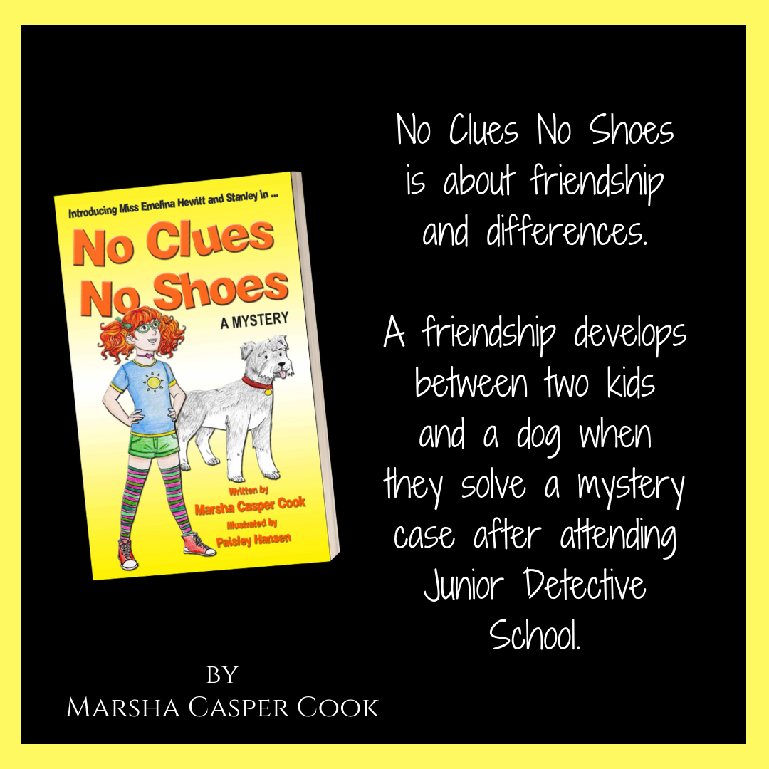 No Clues, No Shoes Kids Book